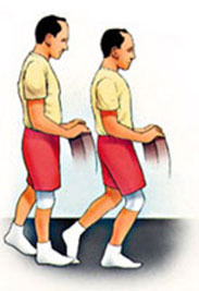 Knee Bend, Partial, Single Leg