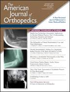 New Study in the American Journal of Orthopedics